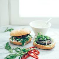 Portobello-burgerit